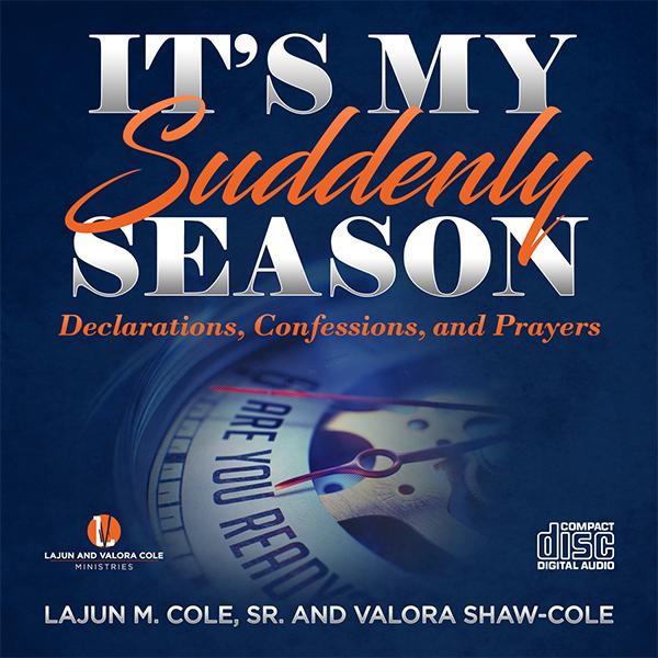 It's My Suddenly Season - CD-Mp3 Versions
