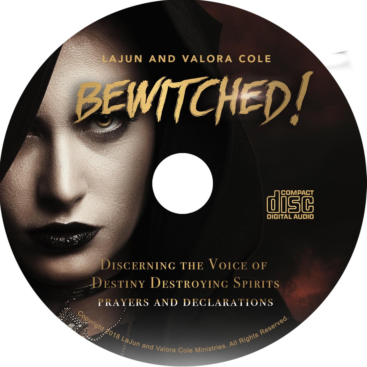 bewitched   u2013 prayers and declarations cd  u2013 mp3